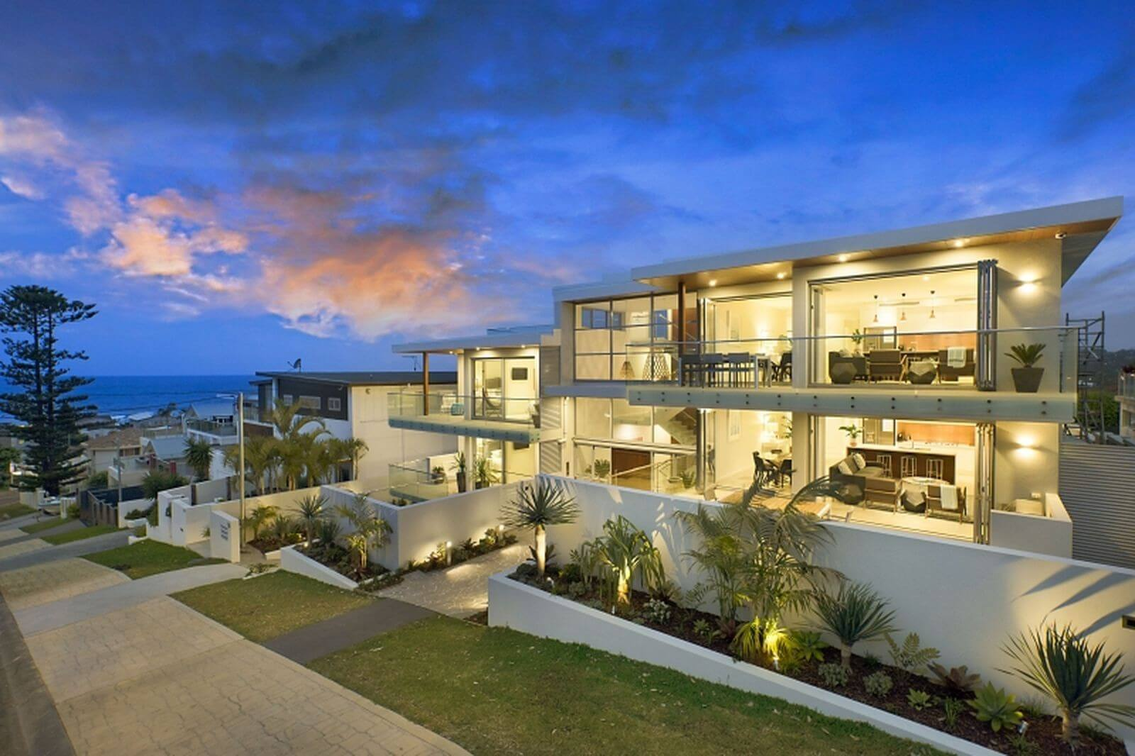 Terrigal apartments outdoor electrical installation